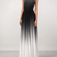 Elie Saab Pleated Gradient Gown - Capitol - Farfetch.com
