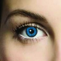 Mesmereyez Bosna Blue Coloured Contacts