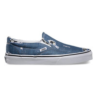 Denim/Checkered Slip-On | Shop Classic Slip-On at Vans
