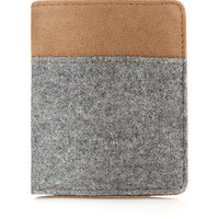GREY MELTON WALLET - Wallets  - Shoes and Accessories