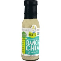 Hilary's Eat Well Salad Dressing & Dip with Omega-3s Ranch Chia 8 fl oz - Vegan - Walmart.com
