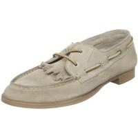 Boutique 9 Women`s Bronson Boat Shoe,Off White,6 M US
