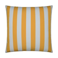 Cafe Stripe-Yellow Pillow