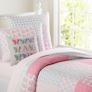 Ava Quilted Bedding | Pottery Barn Kids