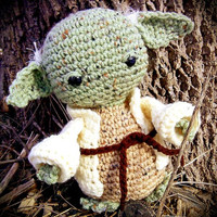 Star Wars Inspired Yoda Crochet Pattern