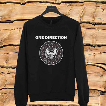 1D sweater Sweatshirt Crewneck Men or Women Unisex Size