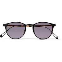 Garrett Leight California Optical - Oxford Round-Frame Sunglasses | MR PORTER