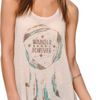 Starling Wander Forever Dreamcatcher Tank Top