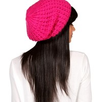 Promo-Berry Heavy Knitted Beanie