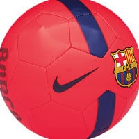 Nike FC Barcelona Supporters Soccer Ball Size 5 (Red)