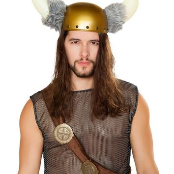 Roma RM-4798 Viking Hat with Faux