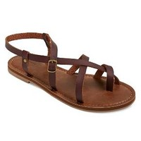 Women's Lavinia Thong Sandals - Mossimo Supply Co.™ Brown 7