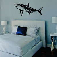 Shark Version 2 Design Animal Decal Sticker Wall Vinyl Decor Art