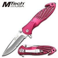MTECH USA MT-604PK Folding Knife 4.5-Inch Closed