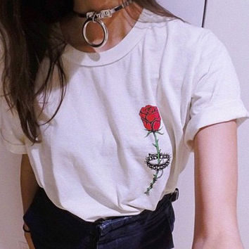 Rose And Thorns Tee