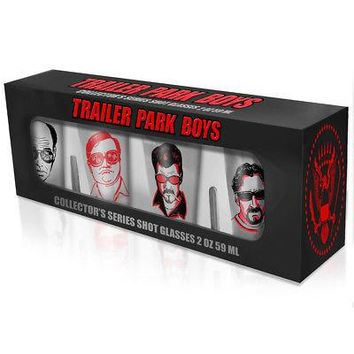 Trailer Park Boys Julian Ricky Bubbles Lahey Shot Glasses - Set (4)