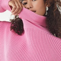 UO Pullover Turtleneck Sweater   Urban Outfitters
