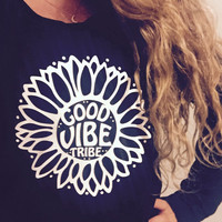 Good Vibe Tribe Sunflower Fleece