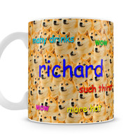 Custom personalized made to order shibe doge Mug Cup