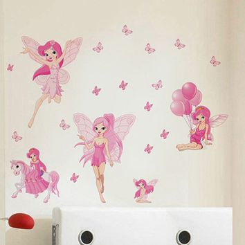 Elvish Shyde And Butterfly Wall Stickers For Rooms Decoration Wall Decals Poster Wallpater