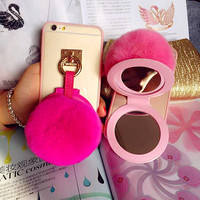 On Sale Stylish Hot Deal Cute Iphone 6/6s Apple Iphone Rabbit Phone Case [6439082884]