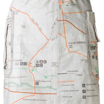 Dosa Map Skirt