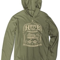 NEW! Hippie Trail Recycled T-shirt Hoody