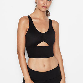 Long Line Keyhole Crop - Victoria Sport - Victoria's Secret