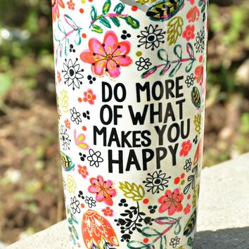 Natural Life Tumbler - Do More