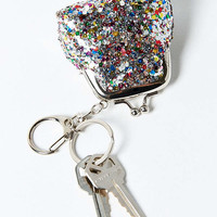 Kiss Lock Sequin Pouch Keychain | Urban Outfitters