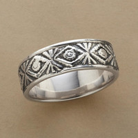 TRIBAL TRIBUTE RING         -                  Rings         -                  Jewelry                       | Robert Redford's Sundance Catalog