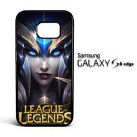 League Of Legends Elise Girl  Z0282 Samsung Galaxy S6 Edge Case
