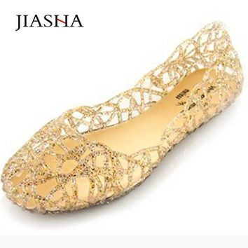 Women sandals 2017 new summer women shoes casual Jelly mesh flats fashion shoes woman