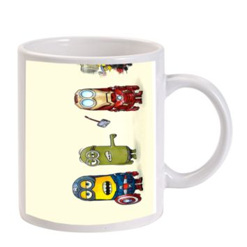 Gift Mugs | The Avengers Minion Despicable Me Super Heroes Hulk Captain American Ironman Thor Ceramic Coffee Mugs