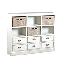 Powell  Currituck Cream Console