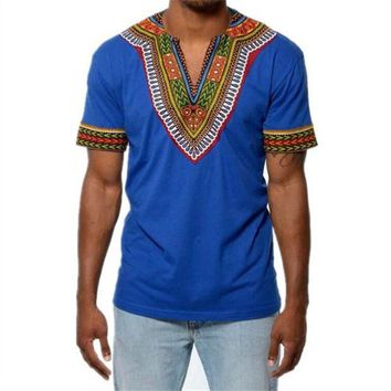 ONETOW H&D Africa clothing African Dashiki Traditional Dashiki Maxi Man Shirt Shirt Maxi T Shirt Summer Man Clothes Man T-shirt