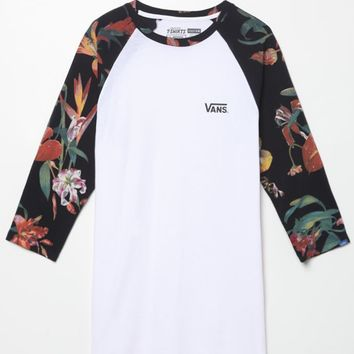 f97710f7d700e8 Vans Death Bloom Baseball T-Shirt - Mens from PacSun