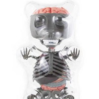 Jason Freeny Gummy Bear Anatomy Puzzle PIQ Exclusive Grey