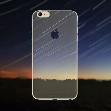 Meteor Shower Tourism Scenery iPhone 5 5S iPhone 6 6S Plus Case + Gift Box-125-170928