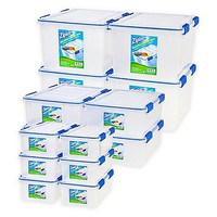 Ziploc® WeatherShield Storage Box Sets in Clear