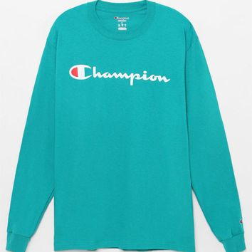 Champion Patriotic Script Long Sleeve T-Shirt at PacSun.com