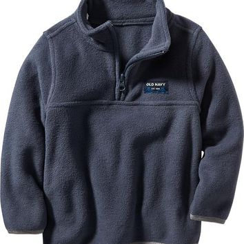 Old Navy Logo Performance Fleece Half Zip from Old Navy