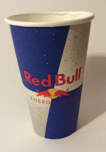 Lot Of 50 Red Bull Paper Cups 5 Quot Tall From Haleysboutique09