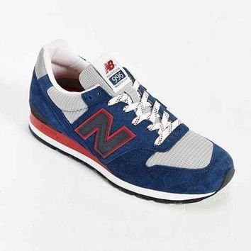 ICIKGQ8 new balance made in usa 996 montauk collection running sneaker dark blue