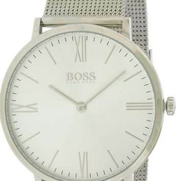 Hugo Boss Mens 1513459 Slim Ultra Jackson Stainless Steel Mesh Band Watch