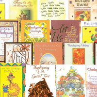 Thanksgiving Greeting Cards Assortment Case Pack 288