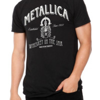 Metallica Whiskey In The Jar T-Shirt