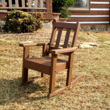 Child Size Rocking Chair Arts And Crafts Mission Oak Vintage
