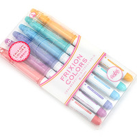 Pilot FriXion Colors Erasable Marker - 6 Color Set 2 - JetPens.com