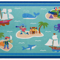 Olive Kids Pirates 39x58 Rug - 600415